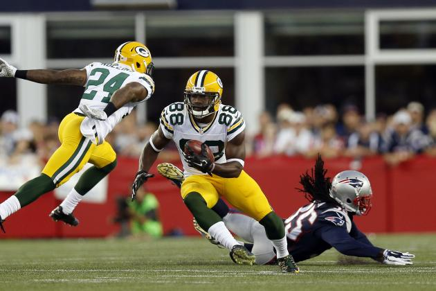 Jerseys NFL Cheap - Ty Montgomery Injury: Updates on Packers WR's Ankle and Return ...