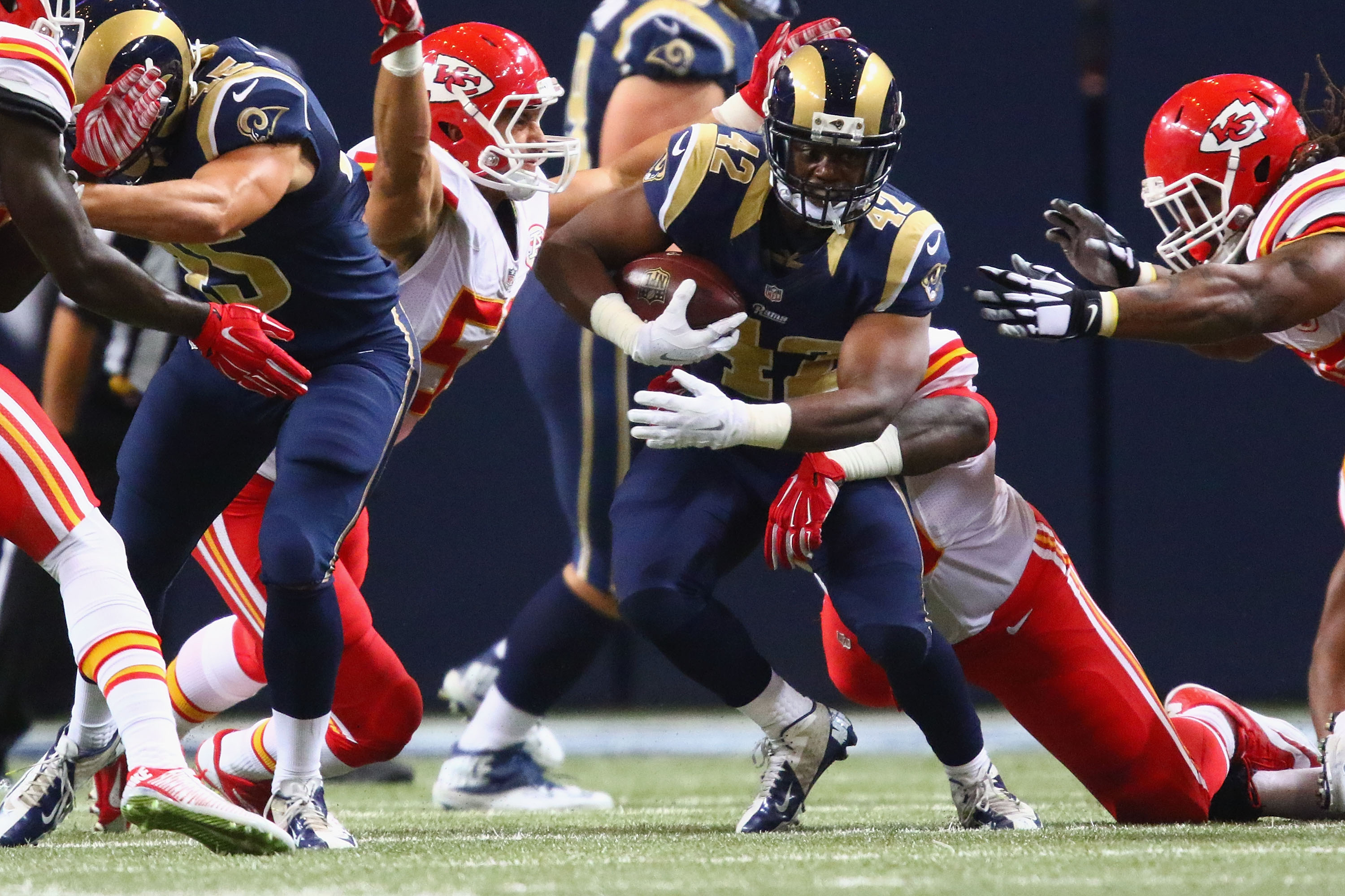 Jerseys NFL Cheap - Chiefs vs. Rams: Postgame Grades, Notes and Quotes for St. Louis ...