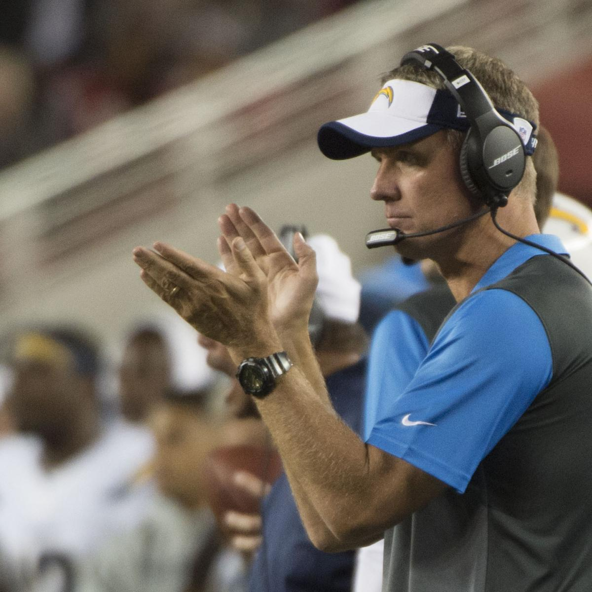 San Diego Chargers Coaching Staff: Chargers Vs 49ers: Postgame Grades, Notes And Quotes For