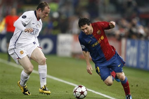 Wayne Rooney 50 Year Old Woman Barcelona superstar Lionel Messi has hailed Wayne Rooney as a once