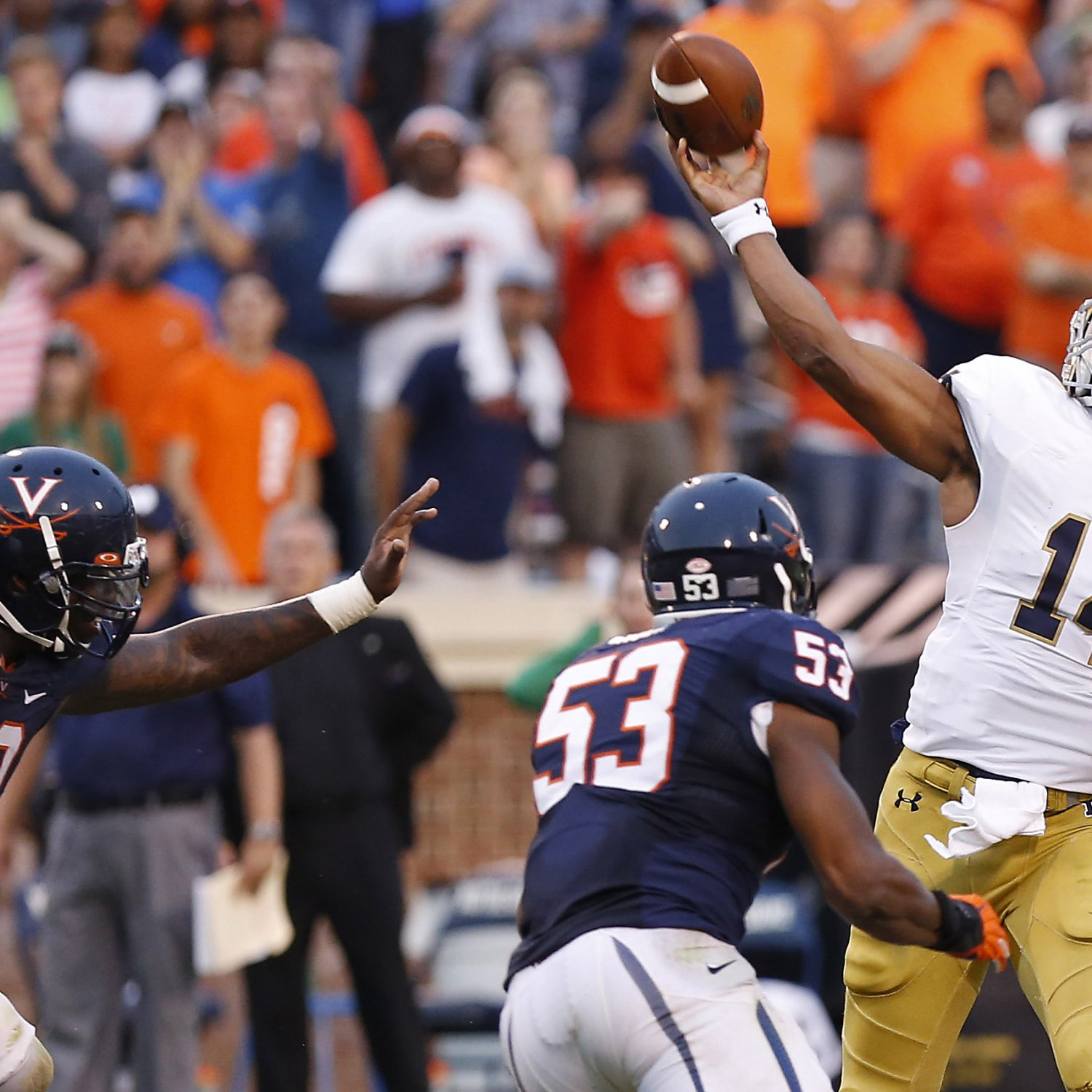 College Football Scores 2015: Key Players from Top 25 ...
