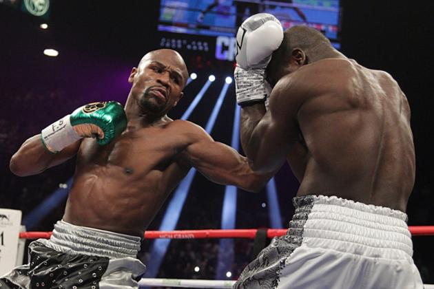 The Good and Bad of Floyd Mayweather's Career on Display in Easy Andre Berto Win