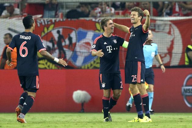 Olympiakos Vs Bayern