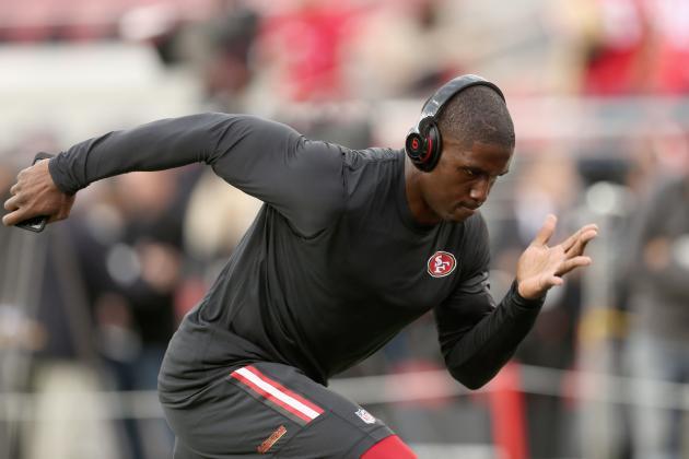 NFL Jerseys Cheap - Reggie Bush Injury: Updates on 49ers RB's Knee and Return ...