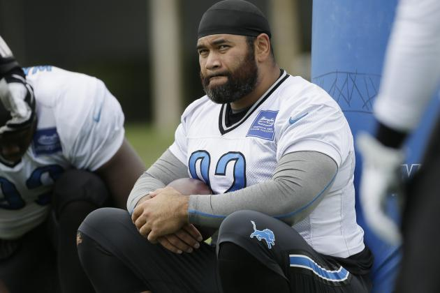 NFL Jerseys - Haloti Ngata Injury: Updates on Lions Star's Calf and Return ...