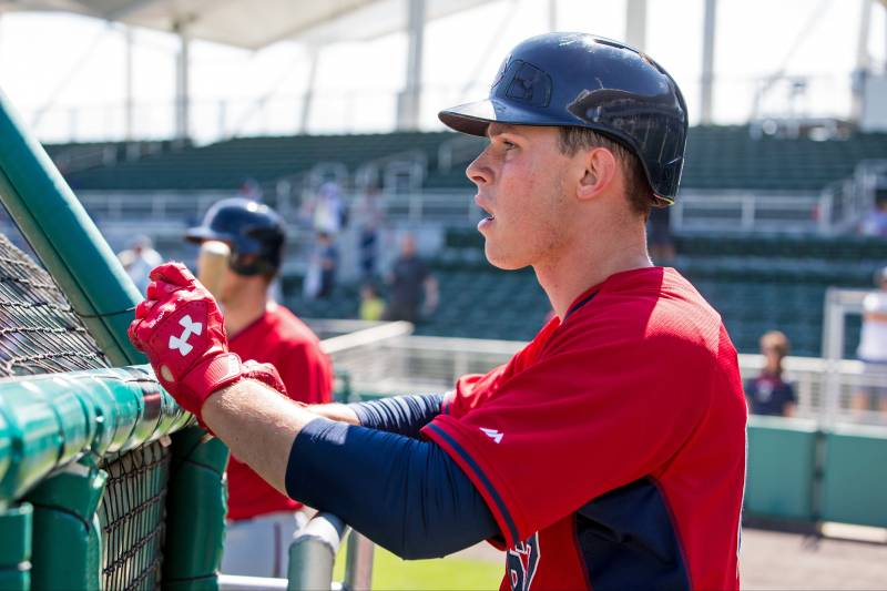Max kepler the german baseball player who spurned soccer for mlb fort myers fl february 28 max kepler 67 of the minnesota twins sciox Images