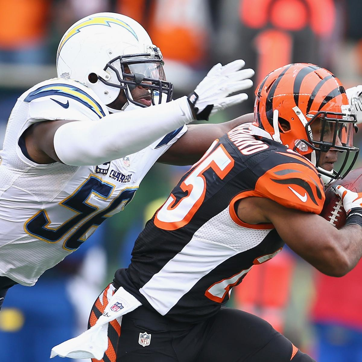San Diego Chargers Cincinnati Bengals: Chargers Vs. Bengals: What's The Game Plan For San Diego