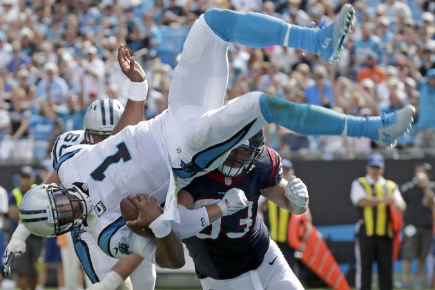 Nike jerseys for wholesale - Carolina Panthers Can't Maintain Success with Cam Newton Playing ...