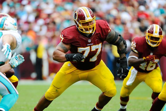 Nike NFL Jerseys - Shawn Lauvao Injury: Updates on Redskins Guard's Ankle and Return ...
