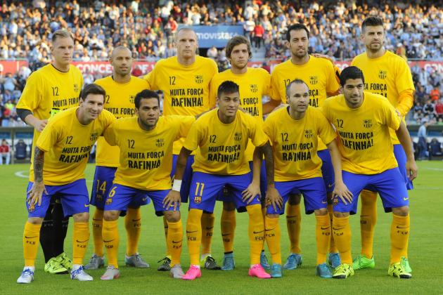 Barcelona vs las palmas team news predicted lineups live stream tv info bleacher report - Tv chat las palmas ...