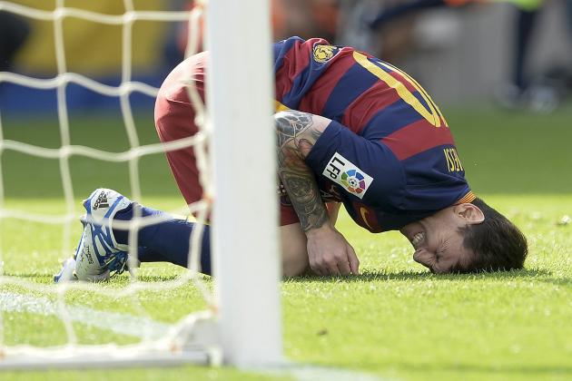 Barcelona: Una epidemia de lesiones.