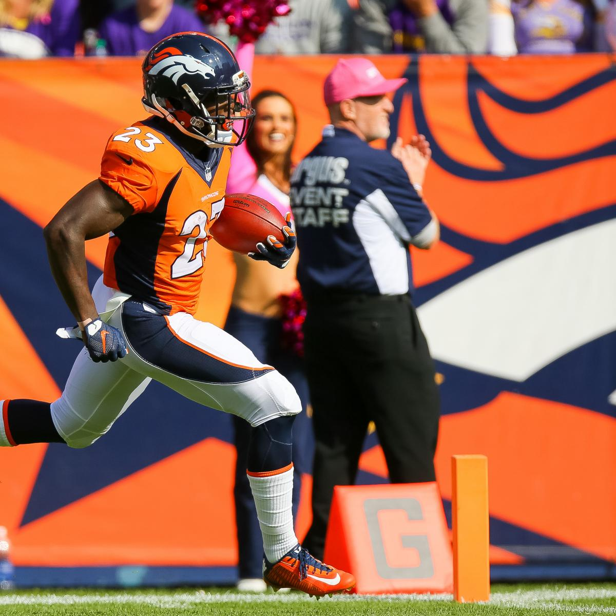 Is Denver Broncos Offense Better With Ronnie Hillman At RB