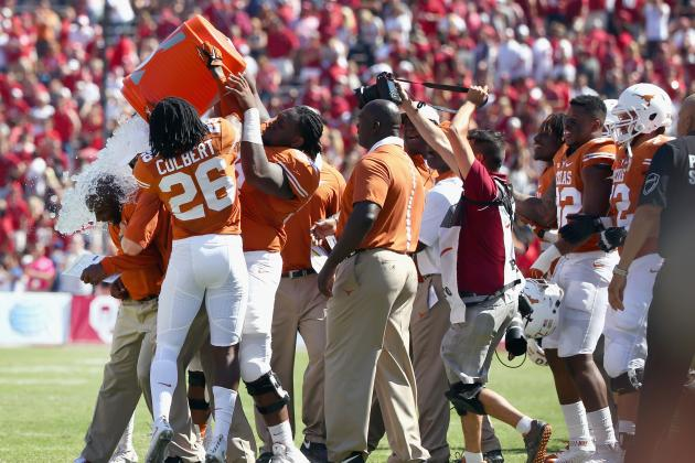 Oklahoma vs. Texas: Live Score, Highlights for 2015 Red River Rivalry