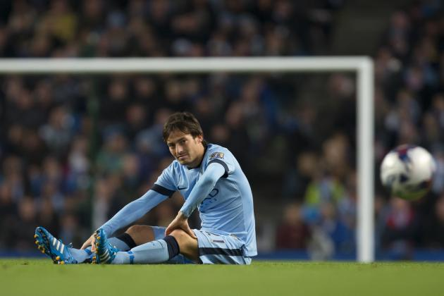 David Silva Injury: Updates on Manchester City Midfielder's Ankle and Return