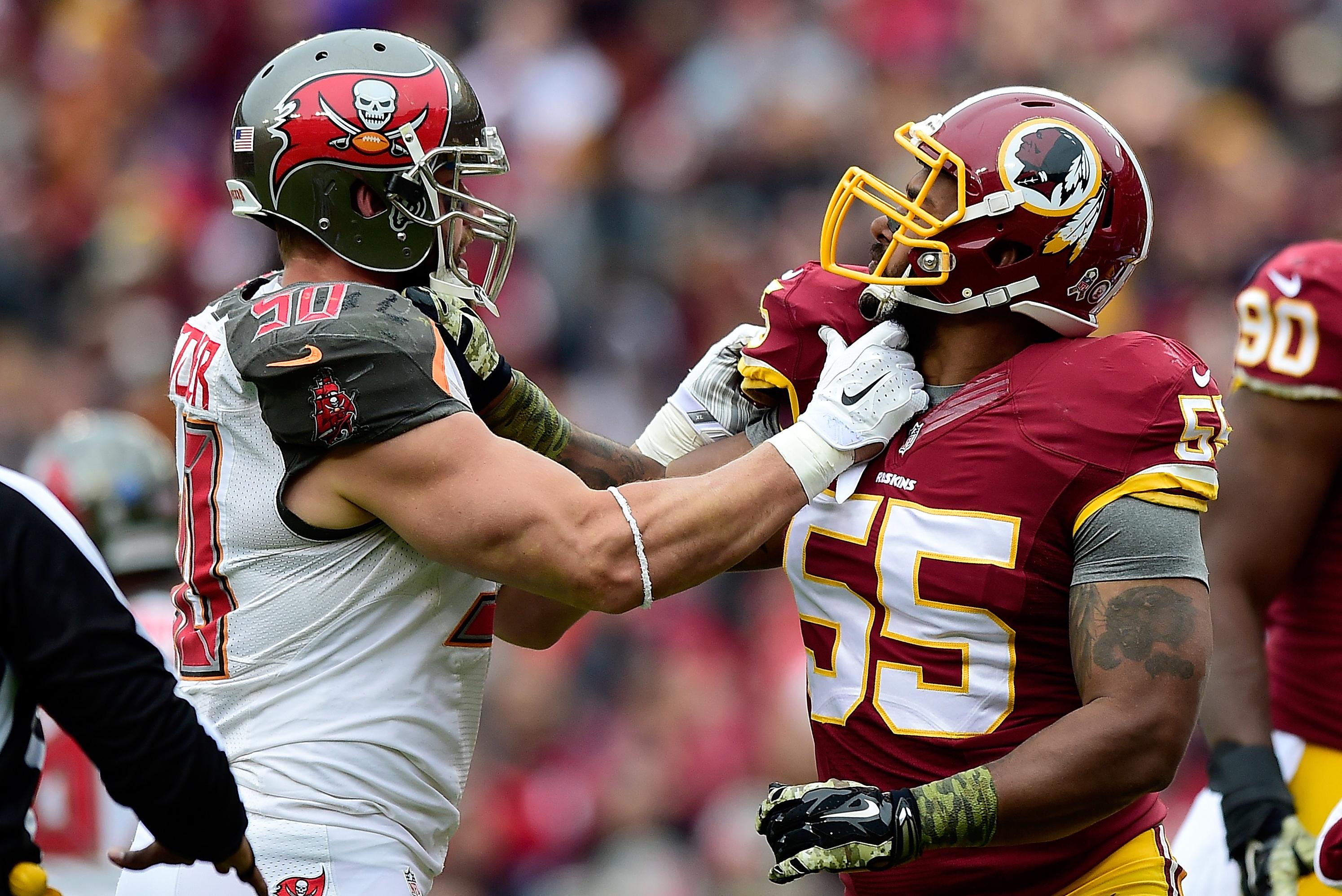 Wholesale NFL Jerseys - Tampa Bay Buccaneers vs. Washington Redskins: Full Washington Game ...