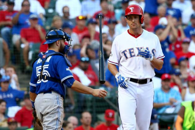 Drew Stubbs Re-Signs with Rangers: Latest Contract Details, Comments, Reaction