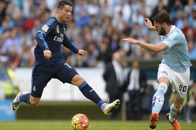 Cristiano ronaldo accused of diving in la liga match vs - Cristiano ronaldo dive ...