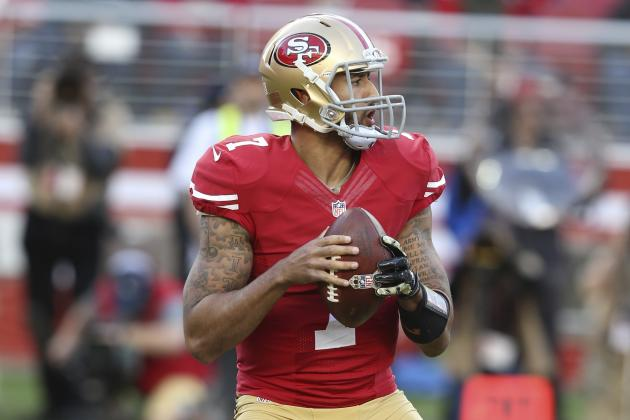 NFL Jerseys Official - Colin Kaepernick, Torrey Smith Comment on QB's Relationship with ...