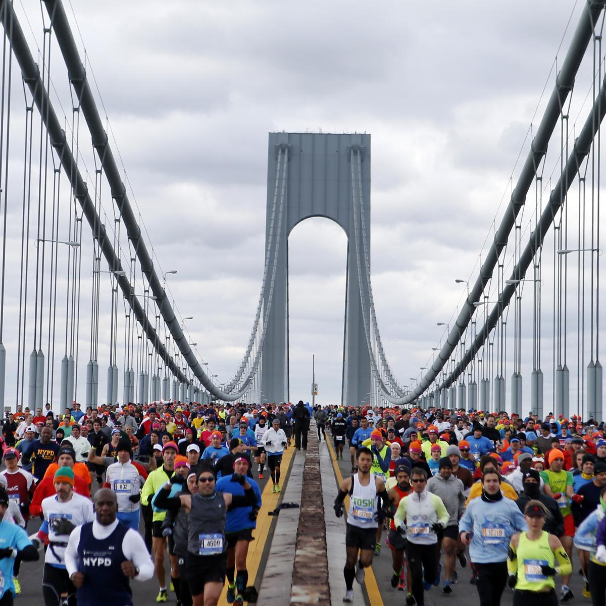 New York City Marathon Whats In A Bib Number Mind Motion New York - Nyc marathon course map pdf