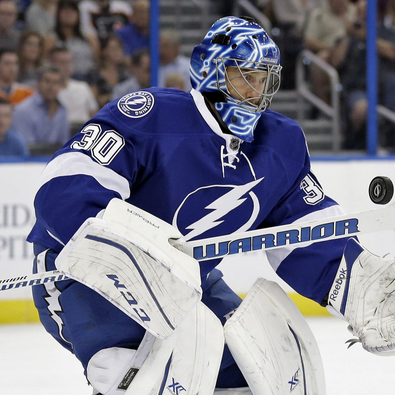 Ben Bishop Injury: Updates on Lightning Goalie's Knee and Return | Bleacher Report