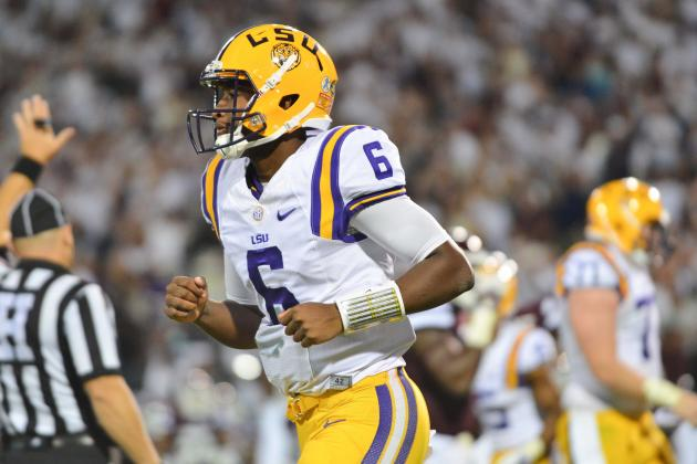 Brandon Harris Injury: Updates on LSU QB's Recovery from Sports Hernia Surgery