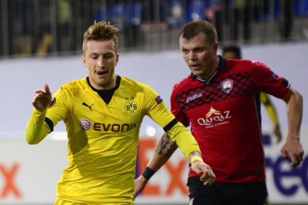 Borussia Dortmund vs Qabala