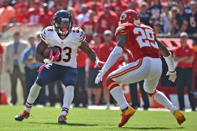 Jerseys NFL Sale - Chicago Bears RB Jeremy Langford Will Give Team Glimpse of the ...