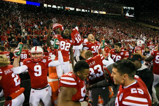 Image result for Nebraska 2016 beats indiana