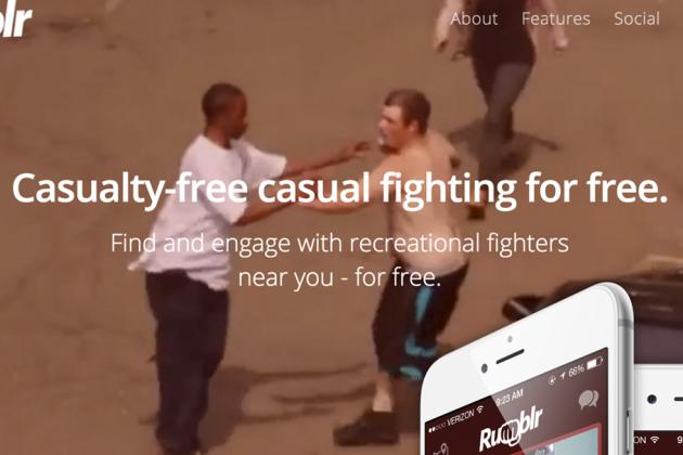 Rumblr, a New App Dubbed 'Tinder for Fighting,' Turns Out to Be a Hoax