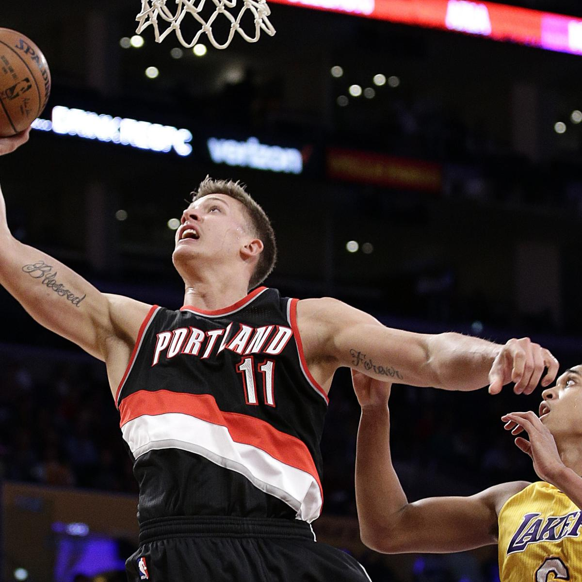 Portland Trail Blazers Injury News: Meyers Leonard Injury: Updates On Trail Blazers PF's