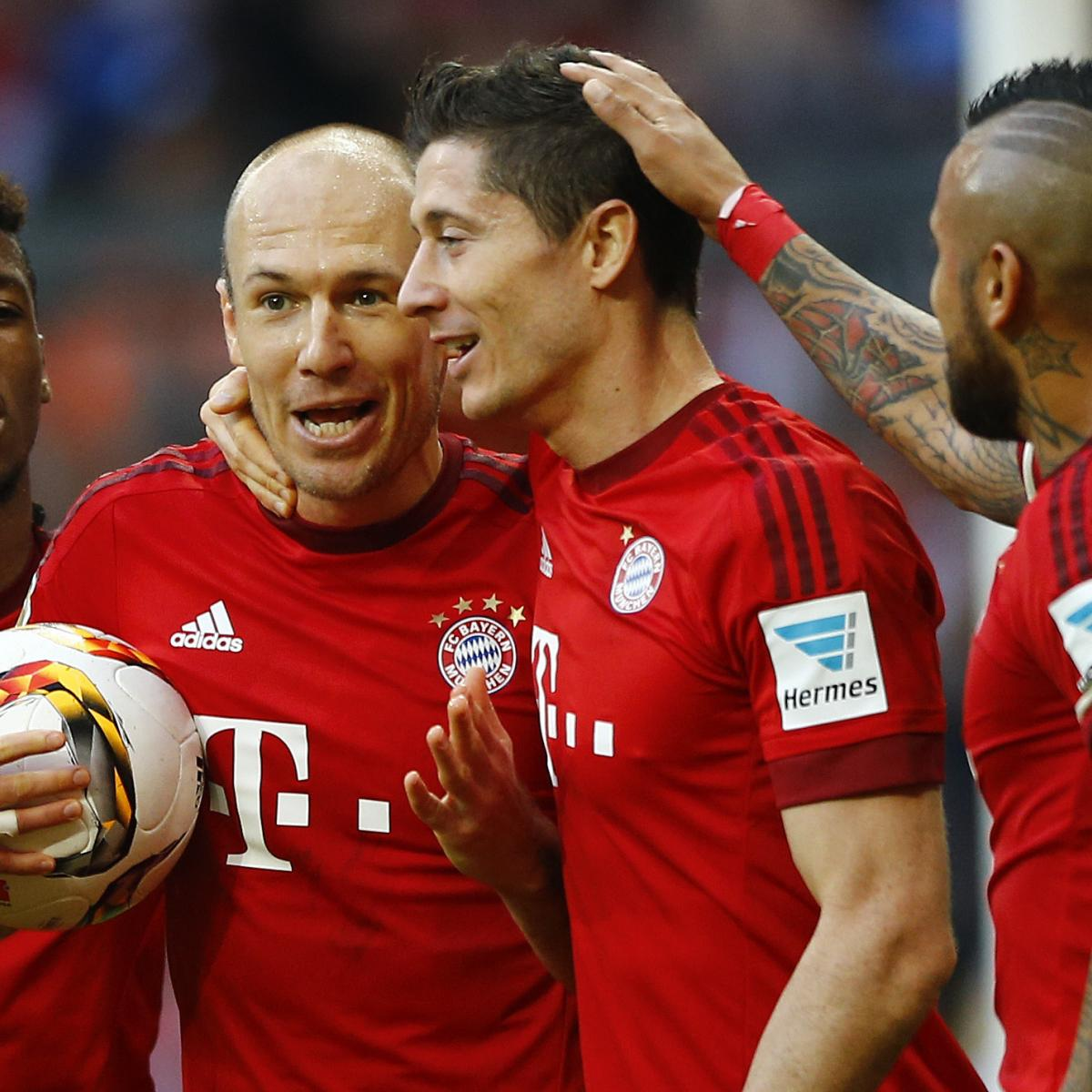Robert Lewandowski and Arjen Robben Rift Reported at ...