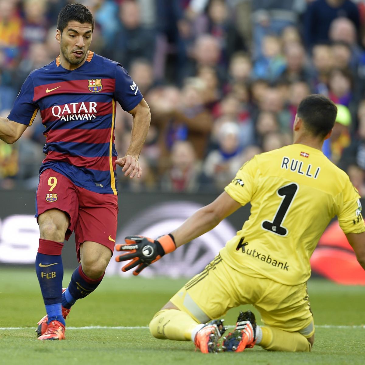 Liverpool V Barcelona Live Matchday Blog: Barcelona Vs. Real Sociedad: Live Score, Highlights From