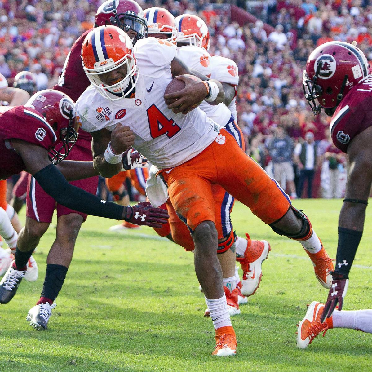 College Football Scores 2015: Final Results, Box Scores for Week 13 Top 25 Games | Bleacher ...