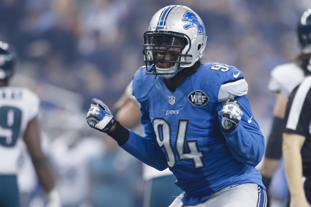 NFL Jerseys Online - Detroit Lions: Can Ezekiel Ansah Notch NFL's Sack Title in 2015 ...