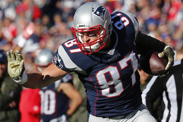 Rob Gronkowski Injury: Updates on Patriots Star's Knee, Back and Recovery