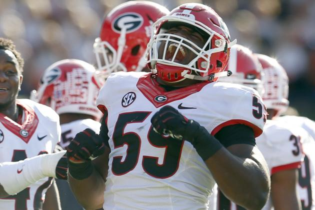 Georgia Football: Ranking the 5 Best Candidates for ...