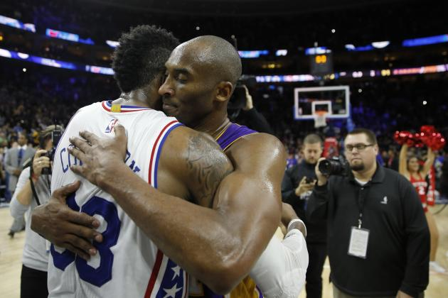 Lakers vs  76ers: Score, Highlights and Reaction from 2015 Regular