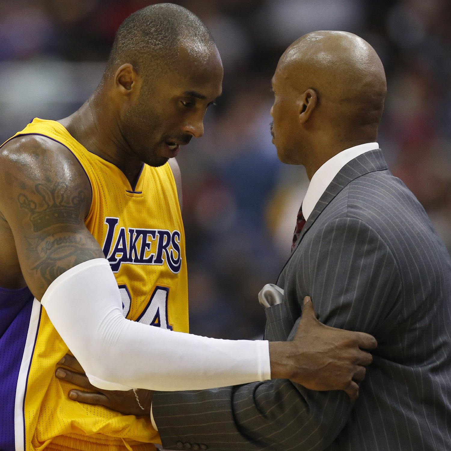 Blazers Vs Lakers: Kobe Bryant Told Byron Scott About Retirement During Game