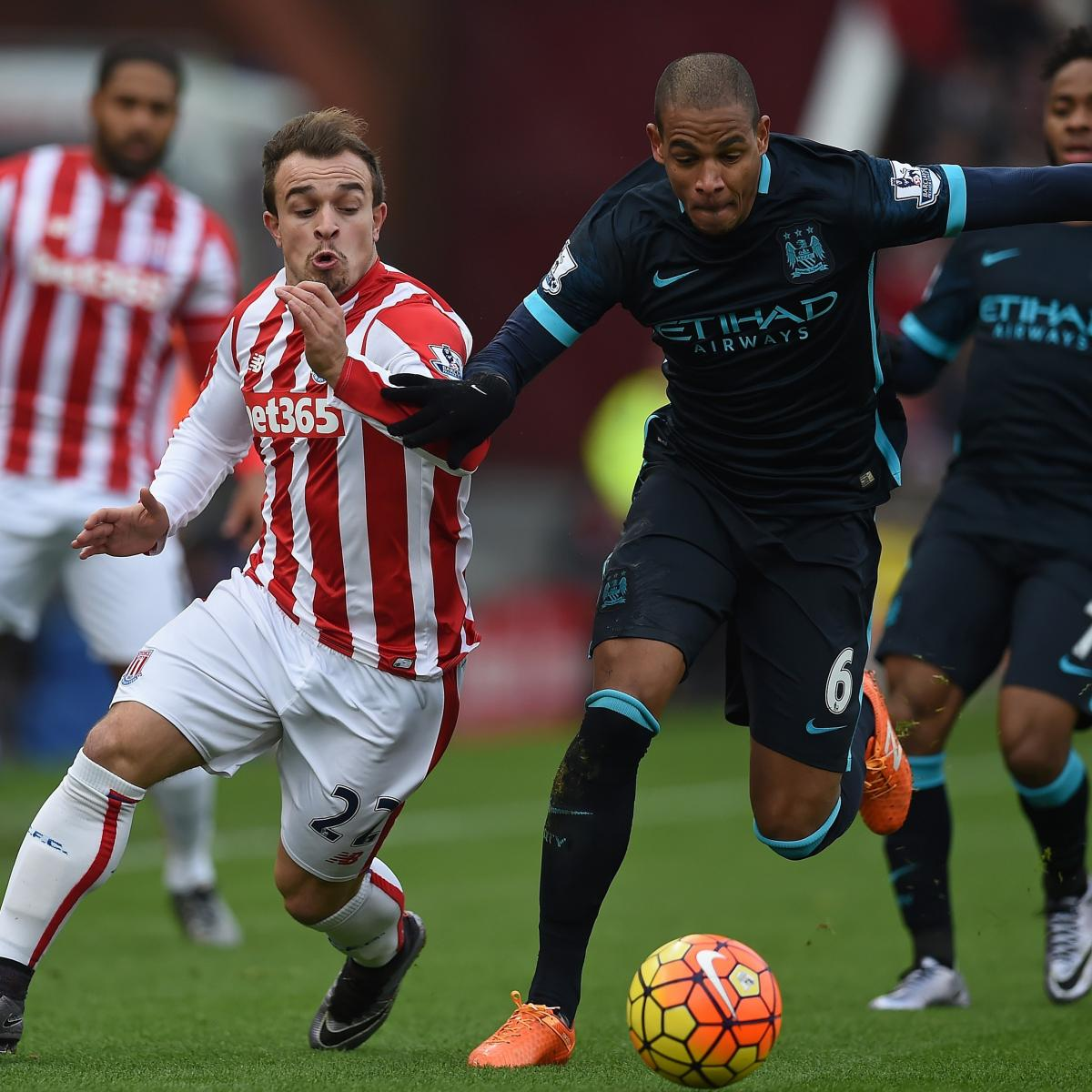 Psg Vs Manchester City Live Score Highlights From: Stoke City Vs. Manchester City: Live Score, Highlights