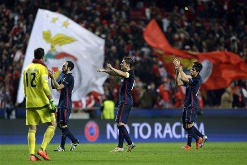 Benfica vs Atletico Madrid