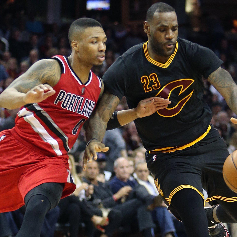 Portland Blazers Game Score: Trail Blazers Vs. Cavaliers: Score, Video Highlights And