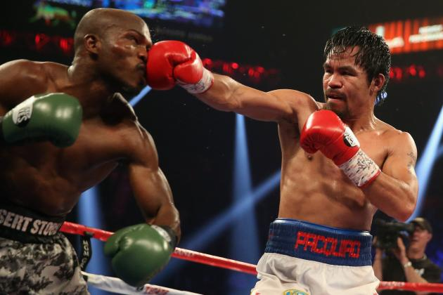 Manny Pacquiao Missing the Mark by Picking Timothy Bradley for Farewell Fight