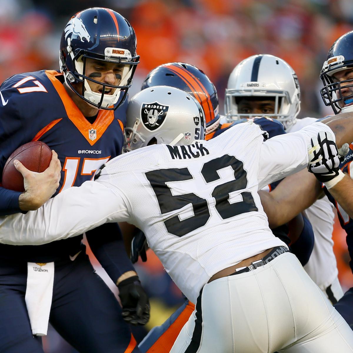 Oakland Raiders Vs. Denver Broncos: Video Highlights And