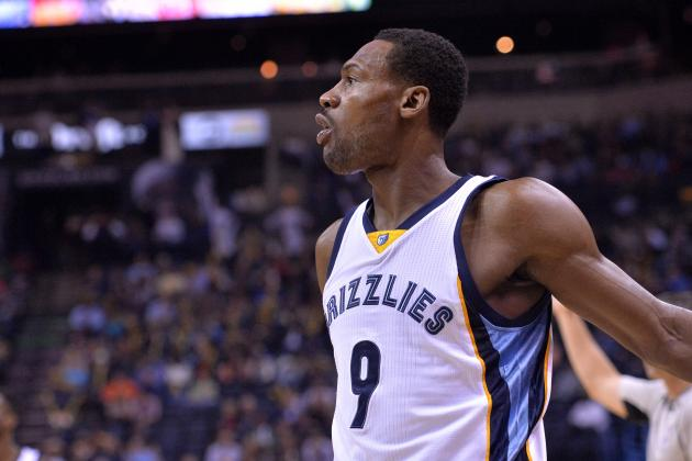 Tony Allen Injury: Updates on Grizzlies Guard's Knee and Return