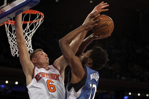 Kristaps Porzingis Already Becoming Center of New York Knicks Defensive Identity