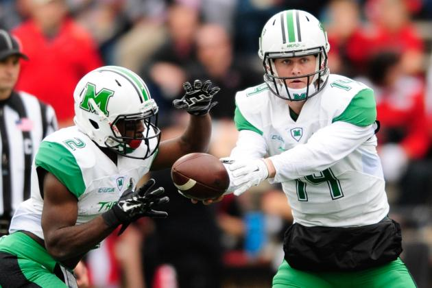 St. Petersburg Bowl 2015: Connecticut vs. Marshall TV Schedule, Time and Odds
