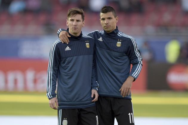 Image result for aguero messi