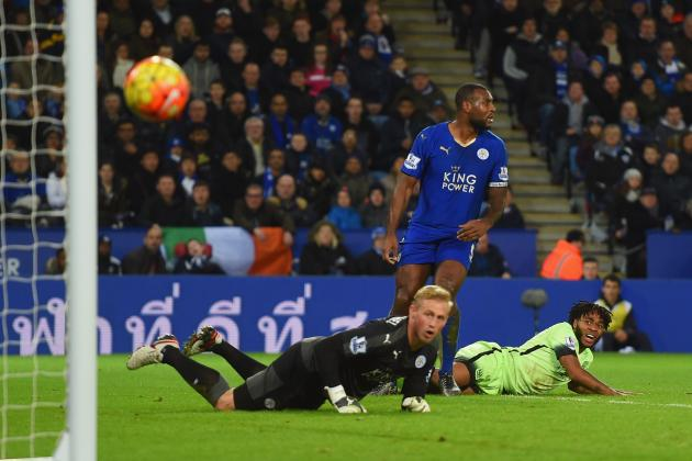 Leicester vs. Manchester City: Score, Reaction from 2015 Premier League Match