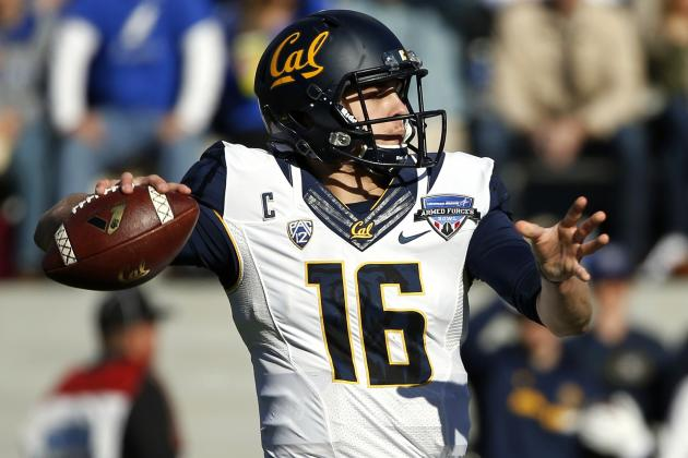 Jared Goff Breaks Pac-12 Records for Passing Yards, Touchdowns in Season