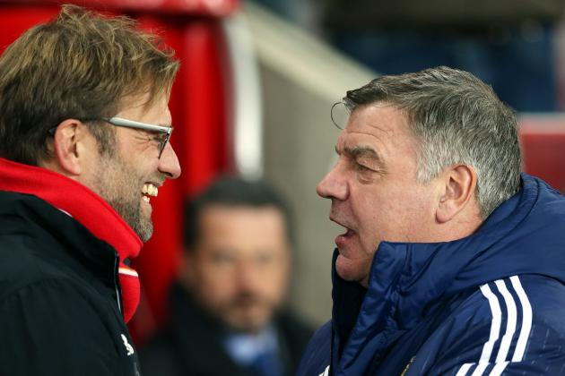 Jurgen Klopp Reportedly Told to Calm Down by Police During Sam Allardyce Clash